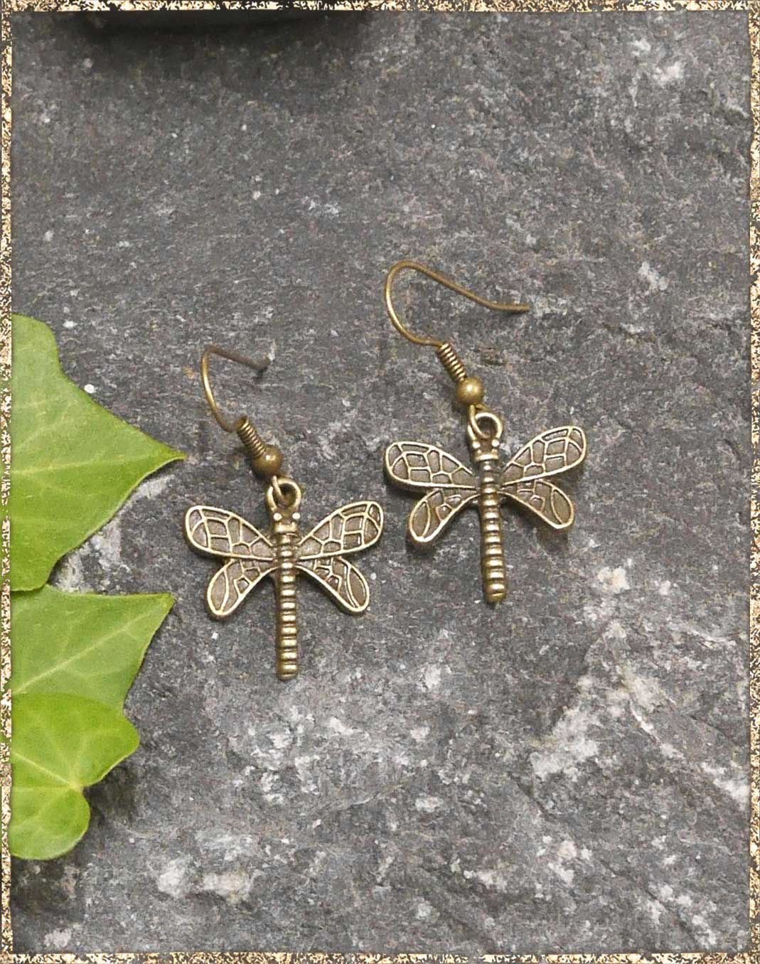 Steampunkohrhänger Small Dragon-Fly
