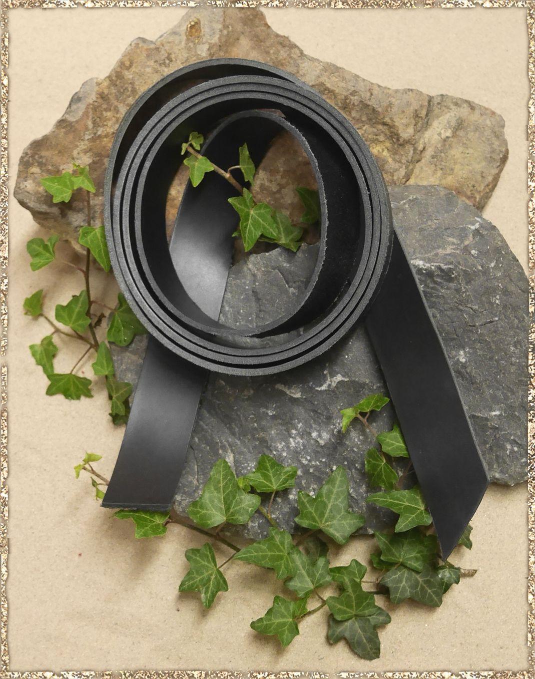 lederriemen 38 mm breit schwarz die gewandschneider von. Black Bedroom Furniture Sets. Home Design Ideas
