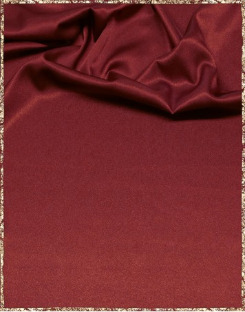 Satin bordeaux