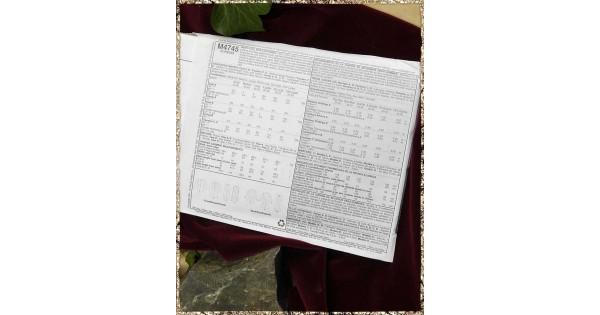 Schnittmuster B4745 - Historische Uniform | Die Gewandschneider von ...